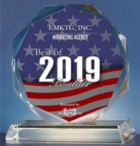 EMKTG Awarded Best of Boulder